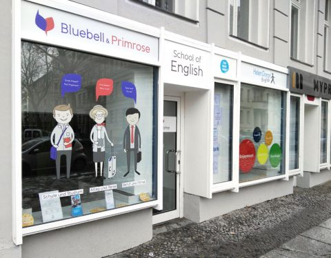 Digitaldruck Schaufenster